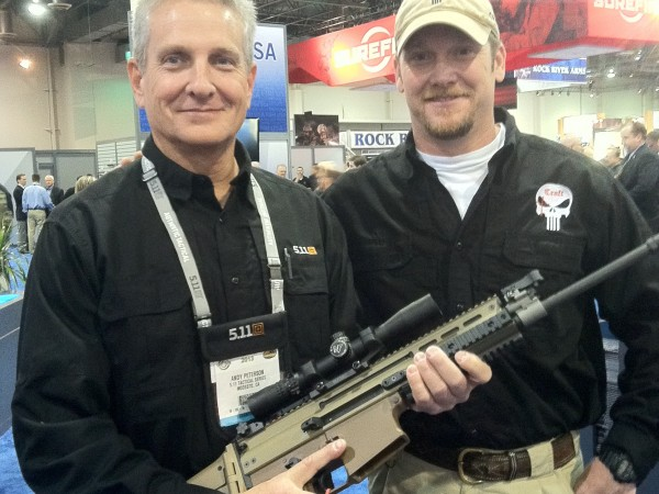 Chris-Kyle-author-of-AMERICAN-SNIPER-at-SHOT-Show-2013-e1358899063187-600x450 - About the Author