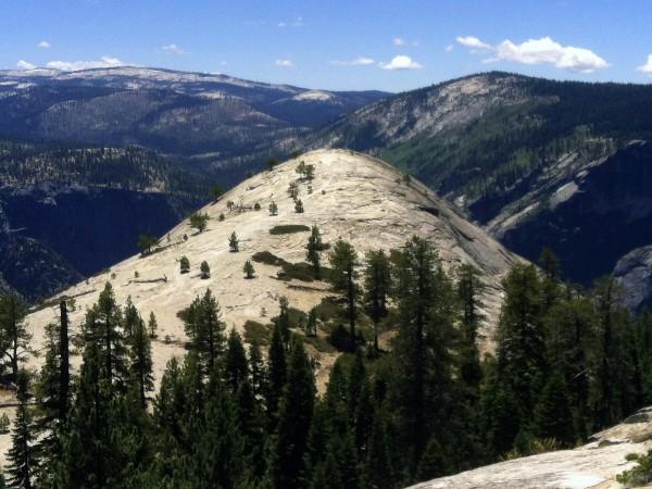 Backside-of-North-Dome-2012-600x450 - Yosemite's North Dome