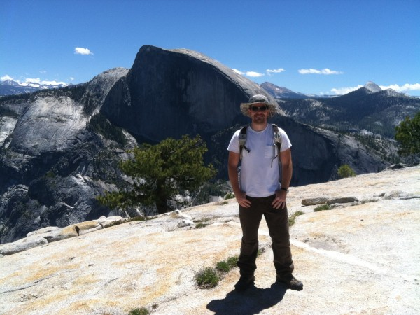 Brent-Eastty-top-of-North-Dome-2012-600x450 - Yosemite's North Dome