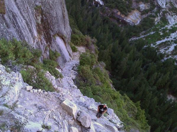 Tenaya-Zigzags-to-North-Dome-2012-600x450 - Yosemite's North Dome
