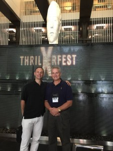 Andy & Alan Turkus at Thrillerfest X, 2015