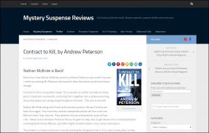 Contract to Kill, by Andrew Peterson - Mystery Suspense Reviews