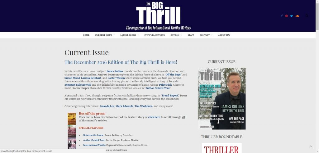 Bigthrillfrontpage-1024x493 - The Big Thrill - Off the Page